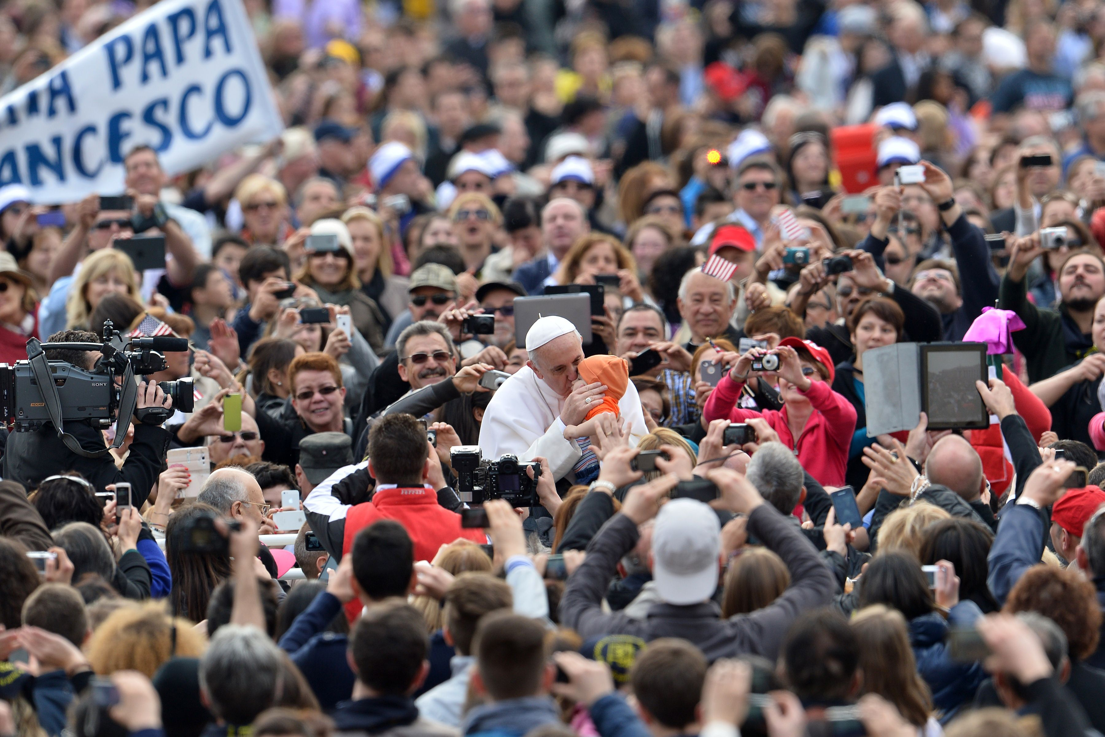 By Ken Ochs. The American public has fallen victim to the narrative that the pontificate of Pope Francis epitomizes anything more than a renewed emphasis on a set of values that the Catholic Church has held for centuries. Photo by AFP-JIJI