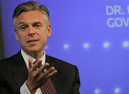 Former Utah Governor and 2012 Republican presidential candidate Jon Huntsman. Huntsman has touted the economic benefits of an energy independent United States. Photo by Brendan McDermid/Reuters.