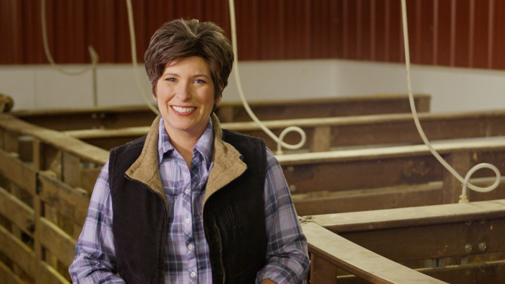 """Imagine if she introduced herself all the time like """"Hi, I'm Joni, and I've castrated hogs!"""""""