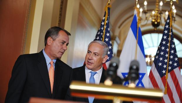 House Speaker John Boehner with Israeli Prime Minister Benjamin Netanyahu in 2011. Photo Credit: Mandel Ngan/AFP/Getty Images