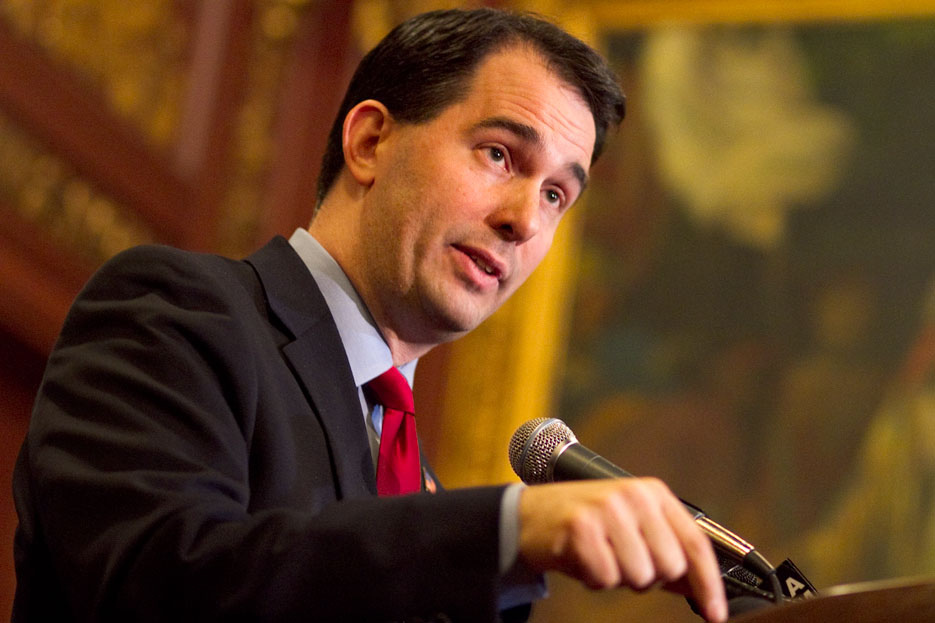 Wisconsin Governor Scott Walker. Photo from Wikimedia Commons.