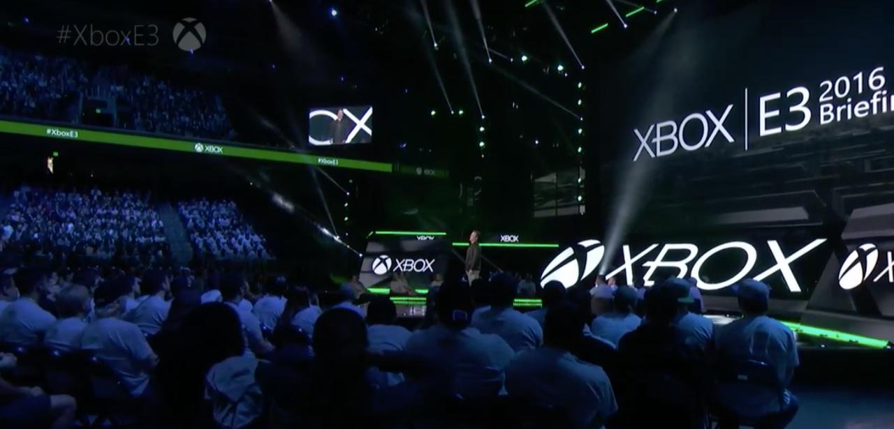 Microsoft's 2016 E3 Conference. Image: Gamespot.com